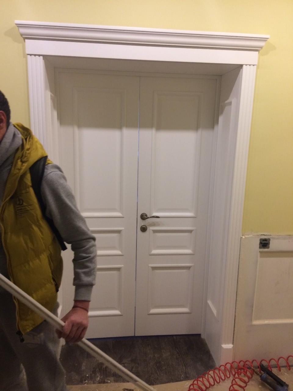 цены на монтаж входных дверей